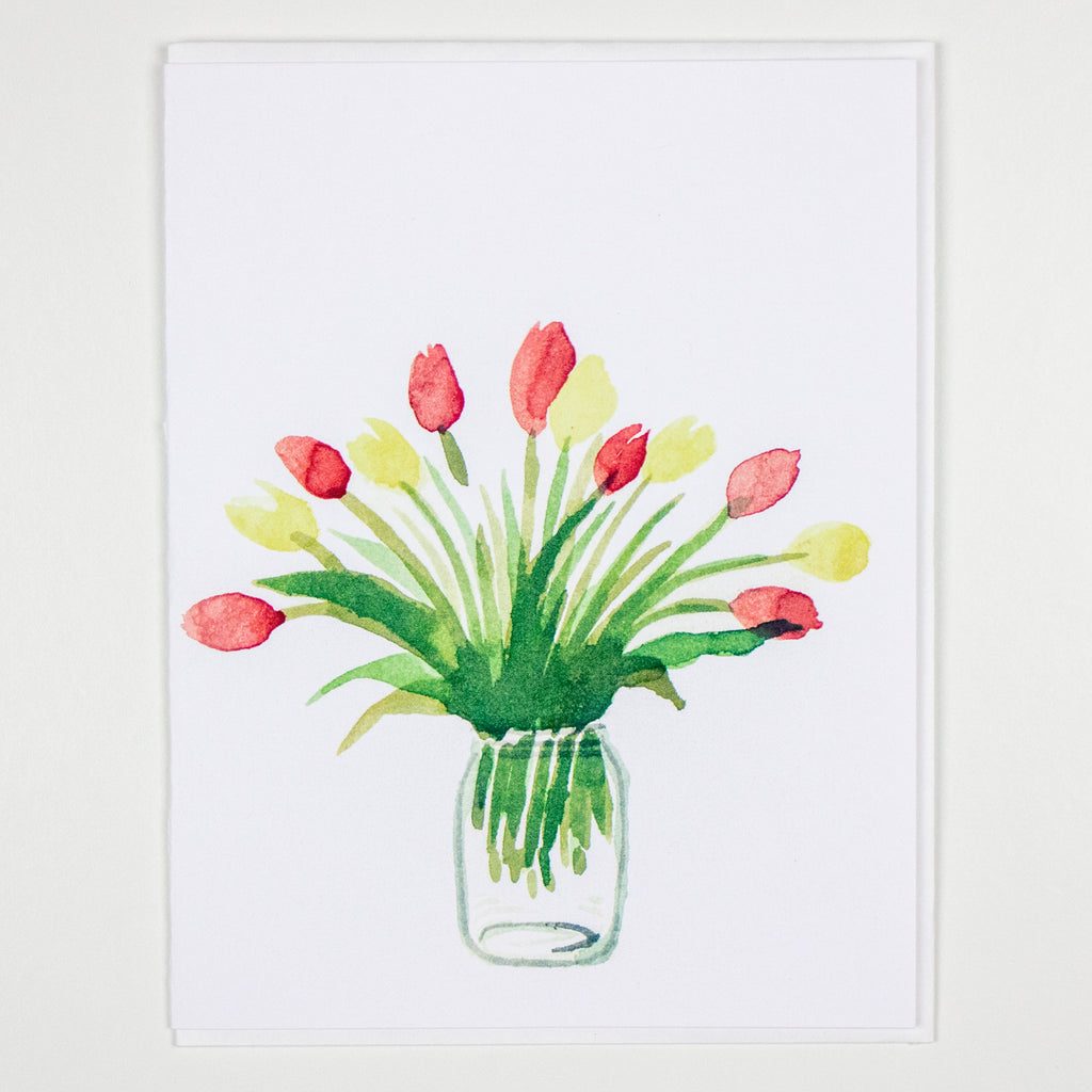 Tulip Bunch Card