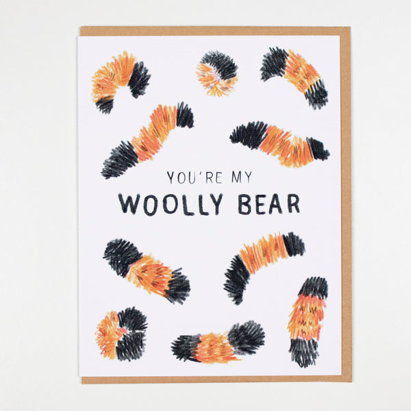 You're My Woolly Bear Card