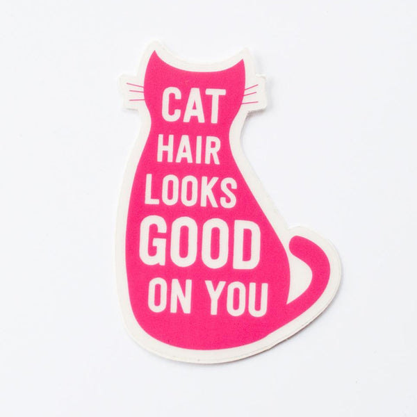 Cat Hair Sticker