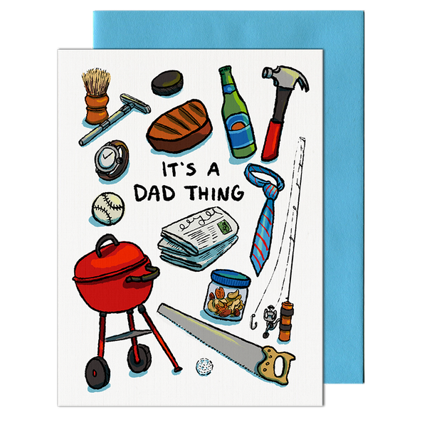 Dad Thing Card