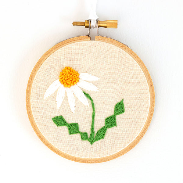 Daisy Embroidery