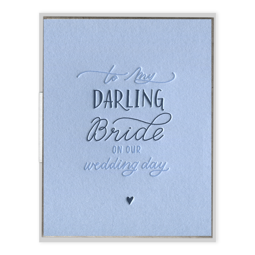 Darling Bride Card