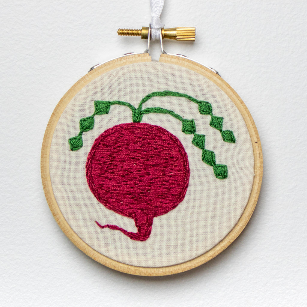 Beet Embroidery