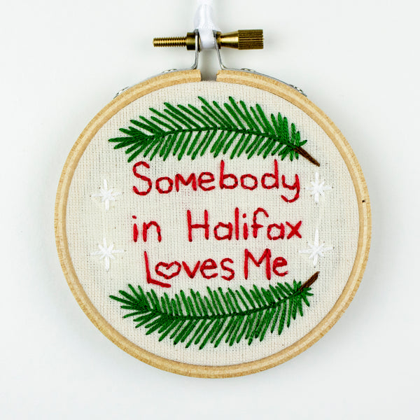 Halifax Love Xmas Embroidery