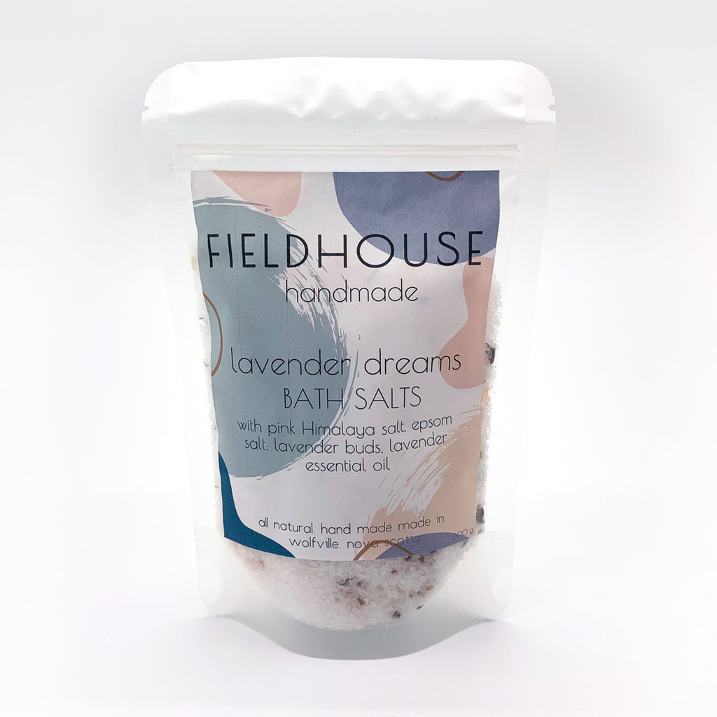 Lavender Dreams Bath Salts - 200g