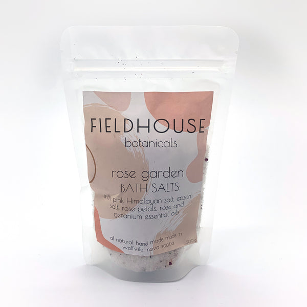 Rose Garden Bath Salts - 100g