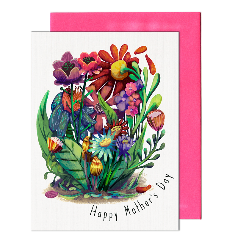 Mother's Day Flower Patch Card