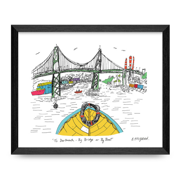 Halifax-Dartmouth Bridge 8.5x11 Print