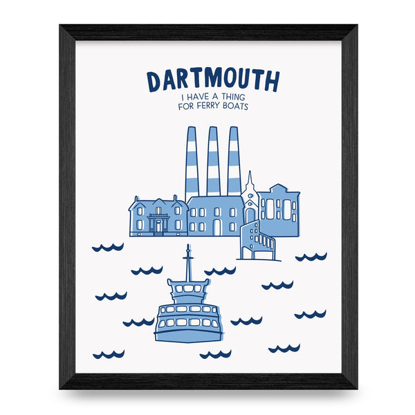 Dartmouth Cities Collection 8x10 Print