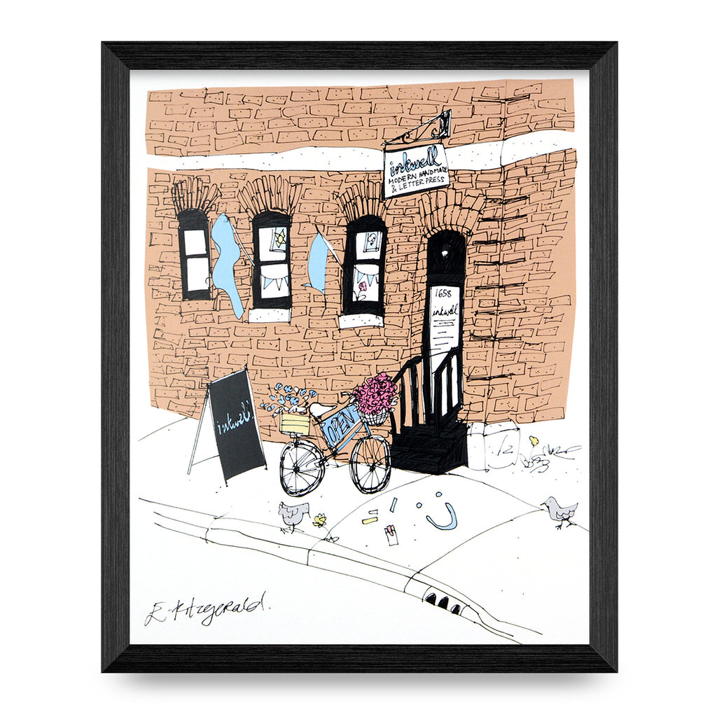 Inkwell Boutique On Market Print