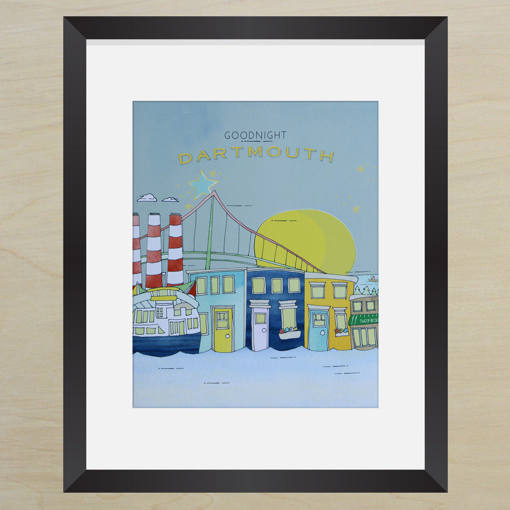 Goodnight Dartmouth 8x10 Print