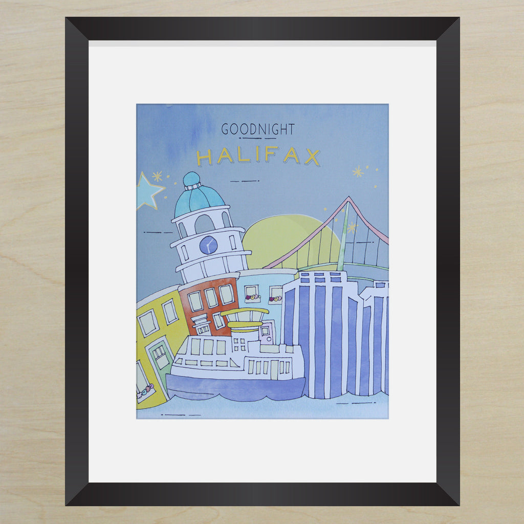 Goodnight Halifax Print