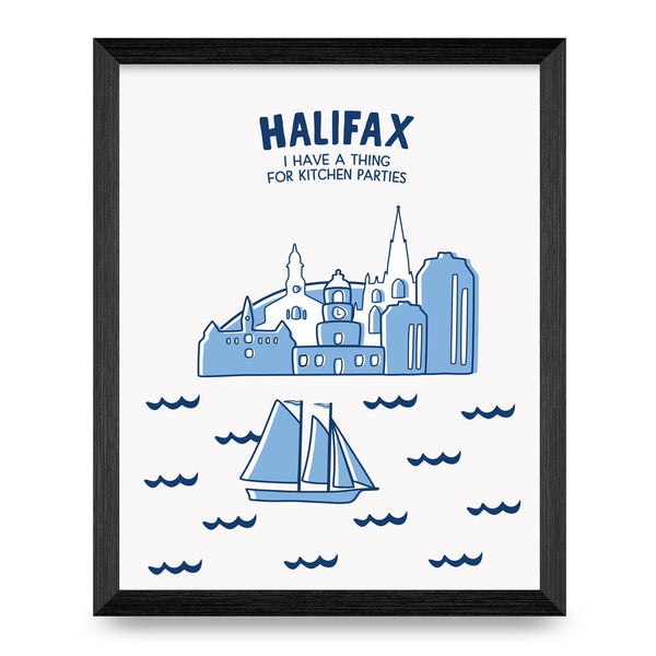Halifax Cities Collection 8x10 Print
