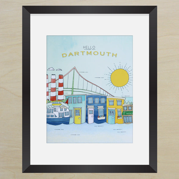 Hello Dartmouth Print