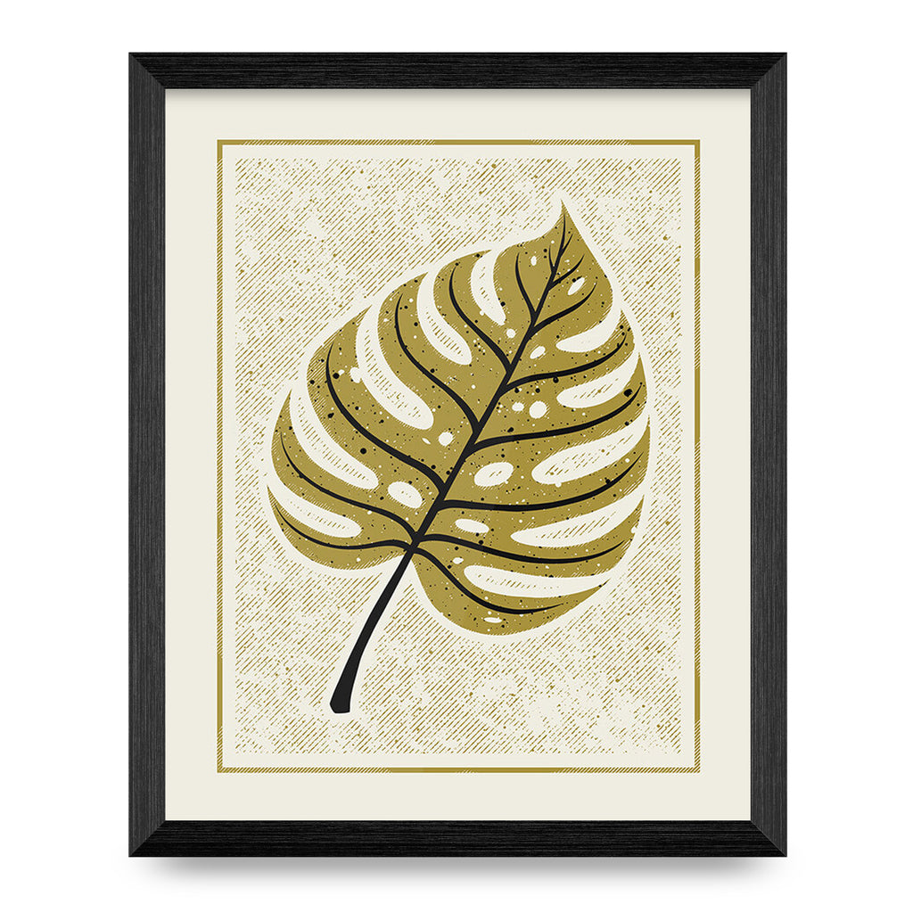 Monstera Leaf 8x10 Print