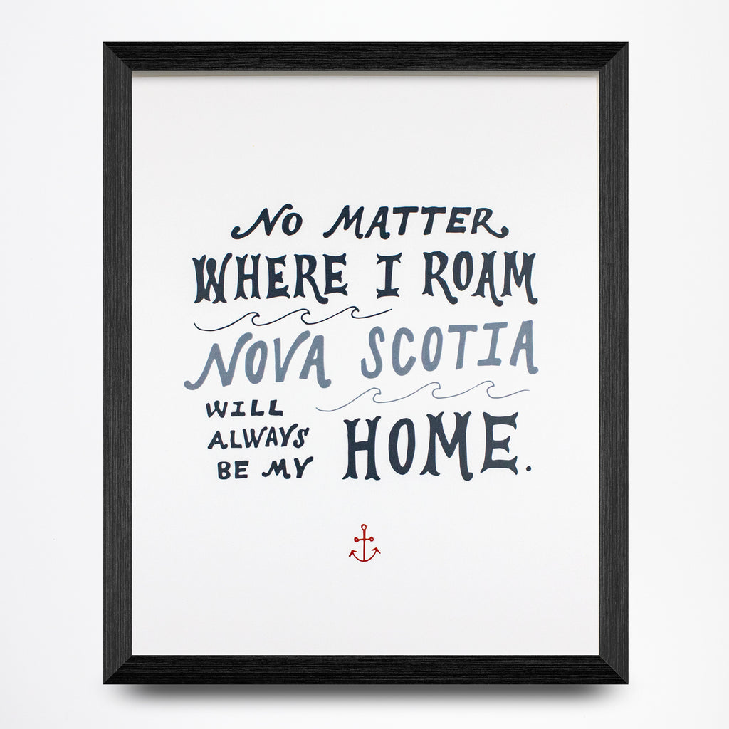 Nova Scotia Home Print