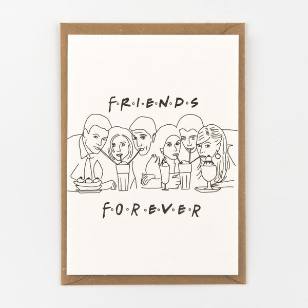 Friends Forever Flat Card