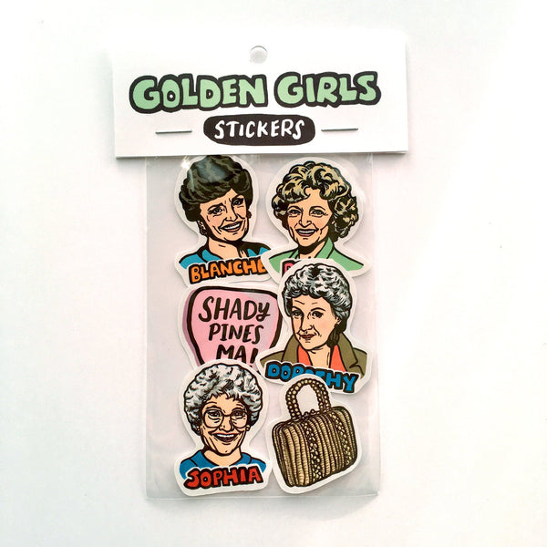Golden Girls Sticker Pack
