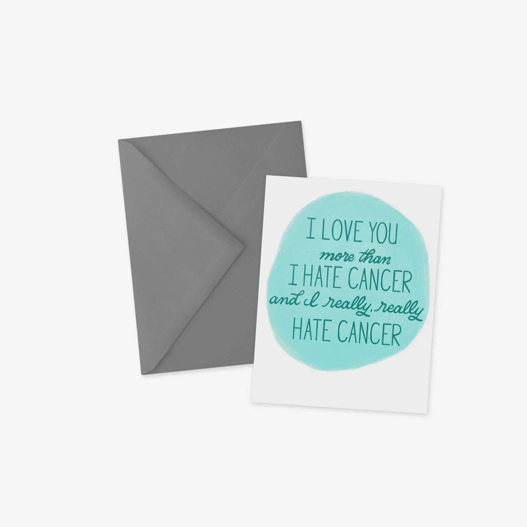 Hate Cancer Card