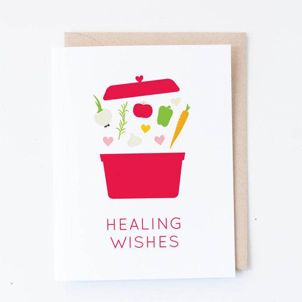Healing Wishes Soup Card