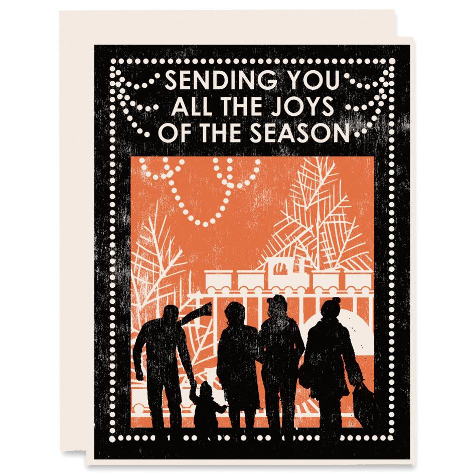 Joys of the Season Card