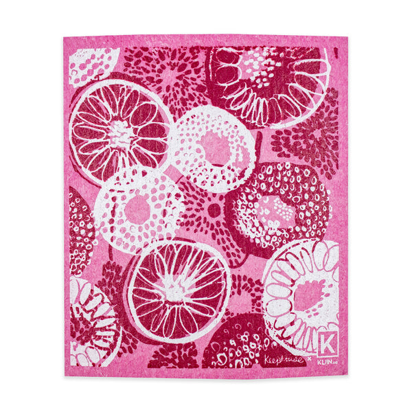 Small Swedish Dishcloth - Dahlia