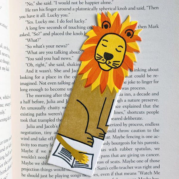 Lion Bookmark
