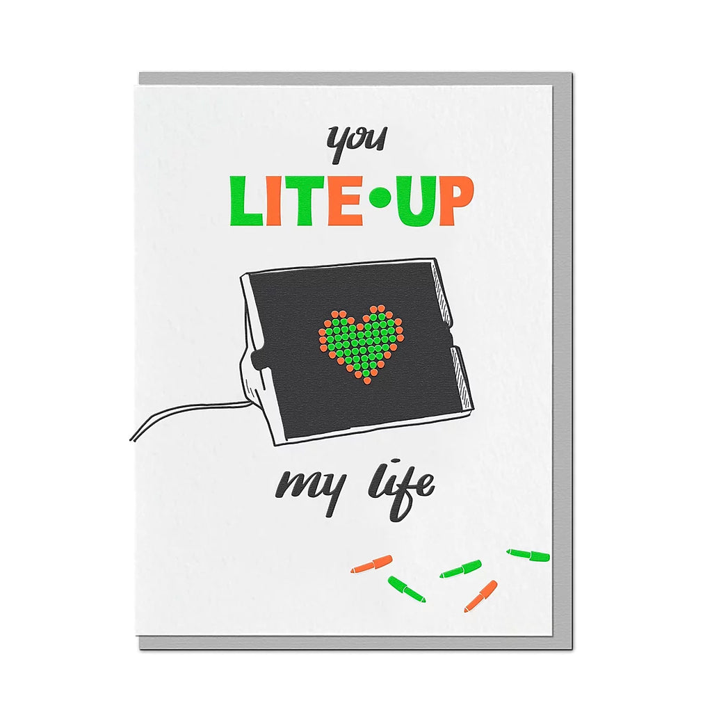 Lite-Up My Life Card
