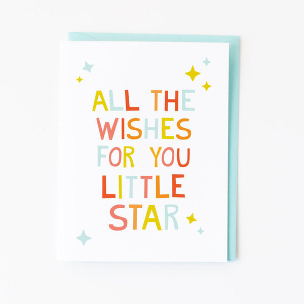 Little Star Baby Card
