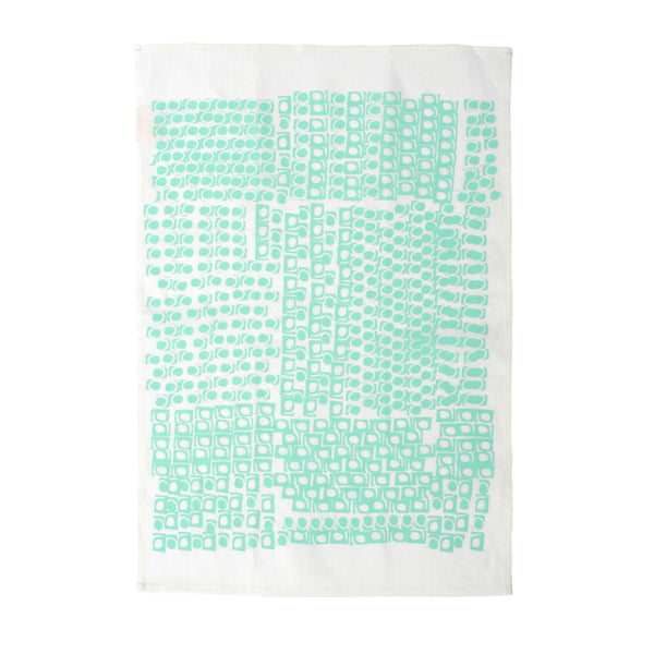 Mint Kanekt Tea Towel