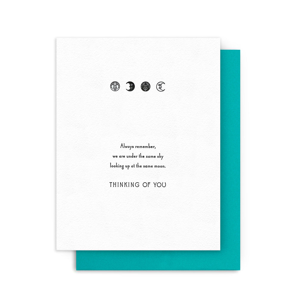 Thinking of You - Moon Phases Card