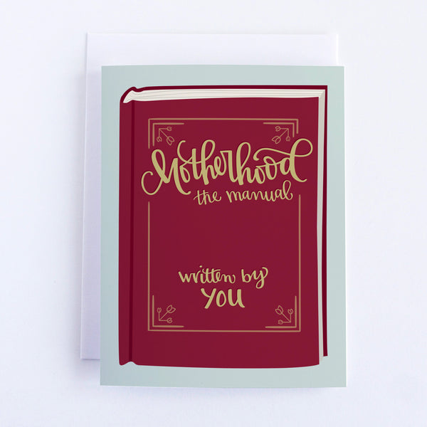 Motherhood Manual Card