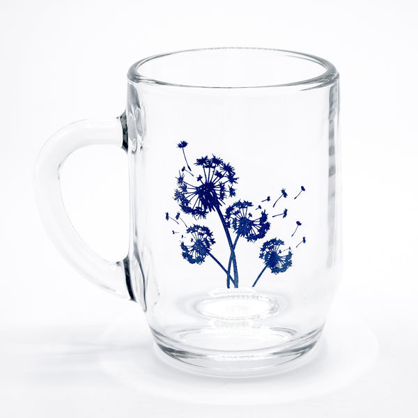 Dandelion Glass Mug