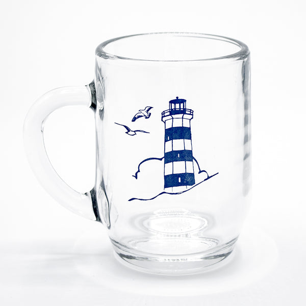Lighthouse Glass Mug