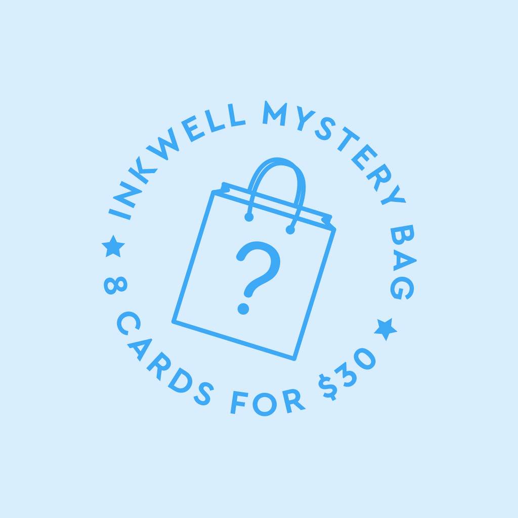 Mystery Bag of 8 Greeting Cards