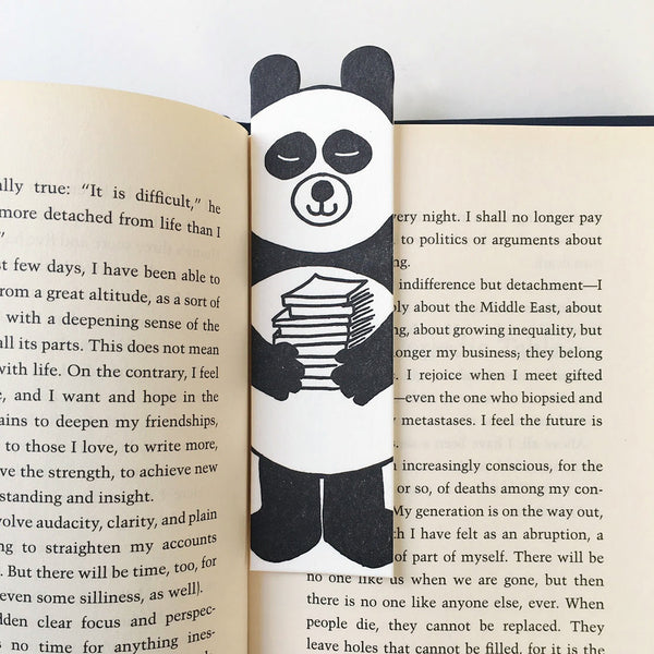 Panda Bear Bookmark