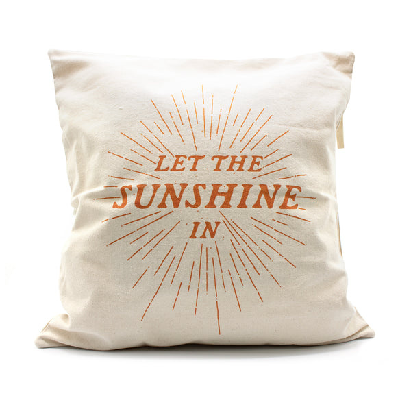 Sunshine Pillow Cover