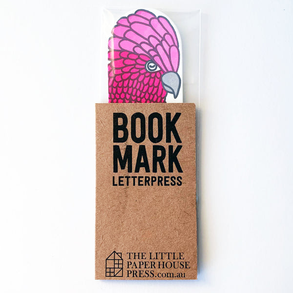 Rose Cockatoo Bookmark