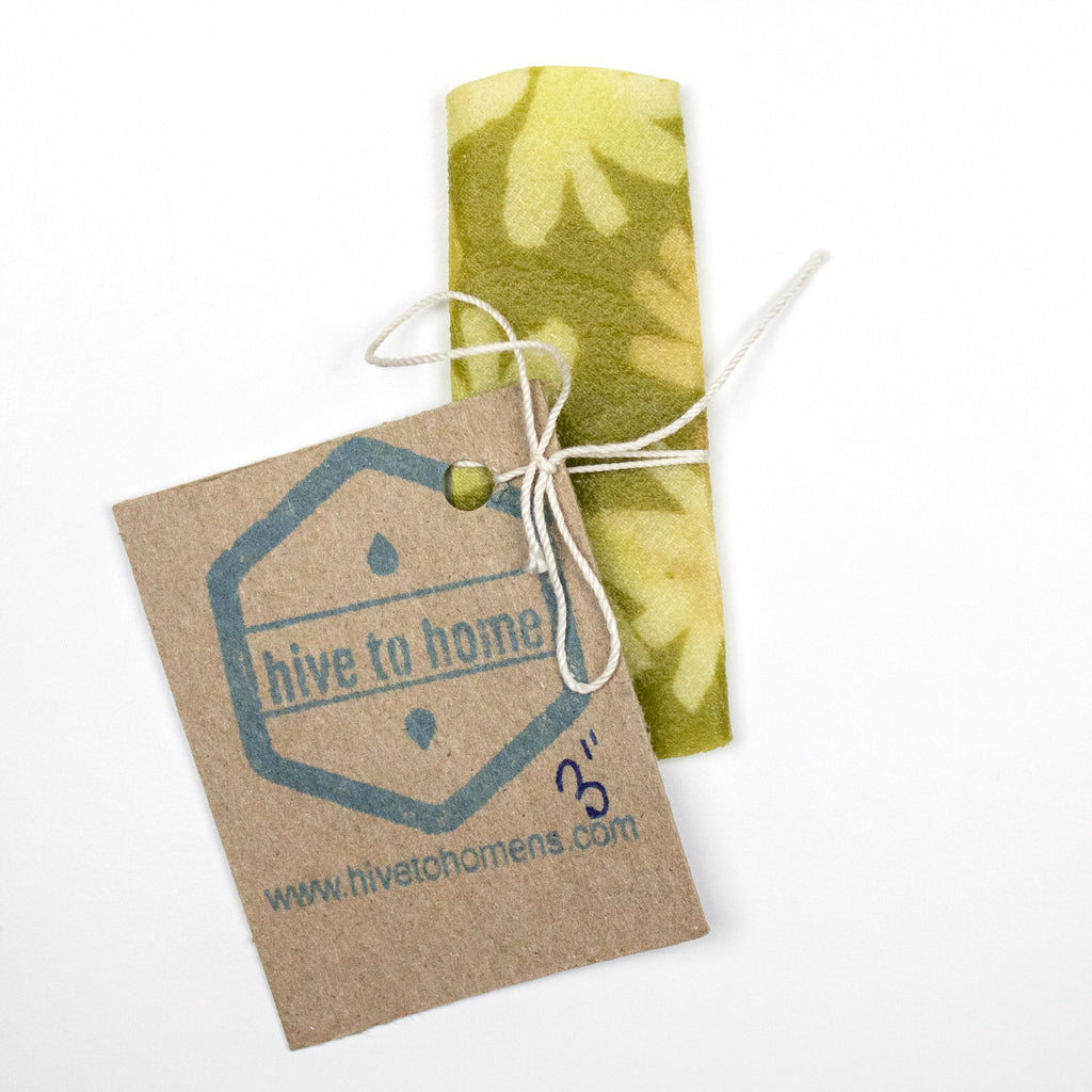 "3"" Round Beeswax Wrap"