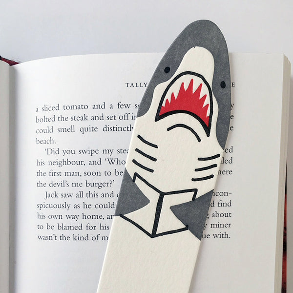 Shark Bookmark