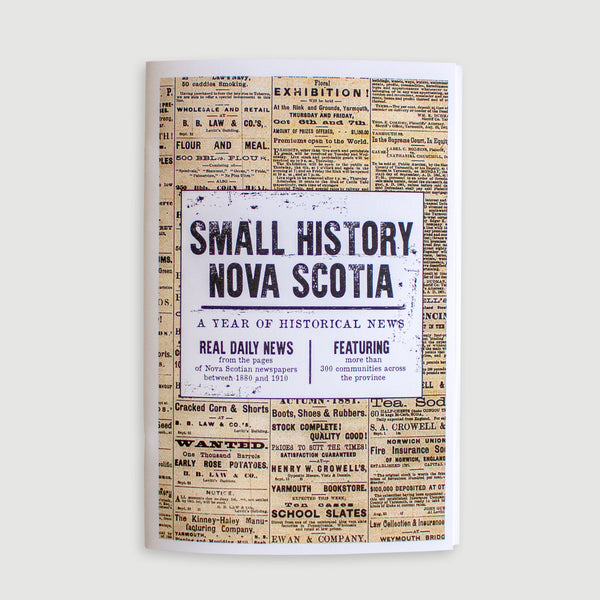 Small History Nova Scotia Chapbook