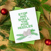 Smell the Pine Needles Card
