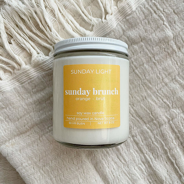 Sunday Brunch 8oz Soy Candle
