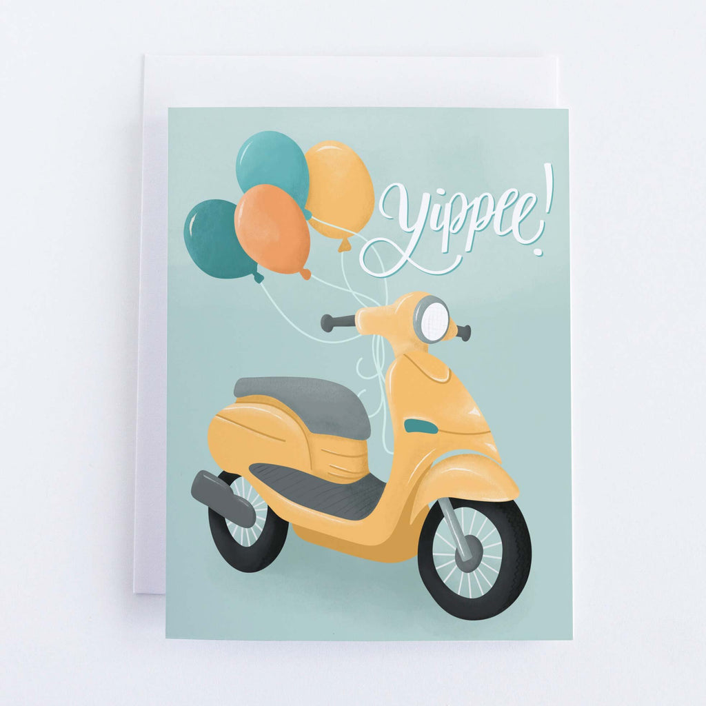 Yippee Scooter Card