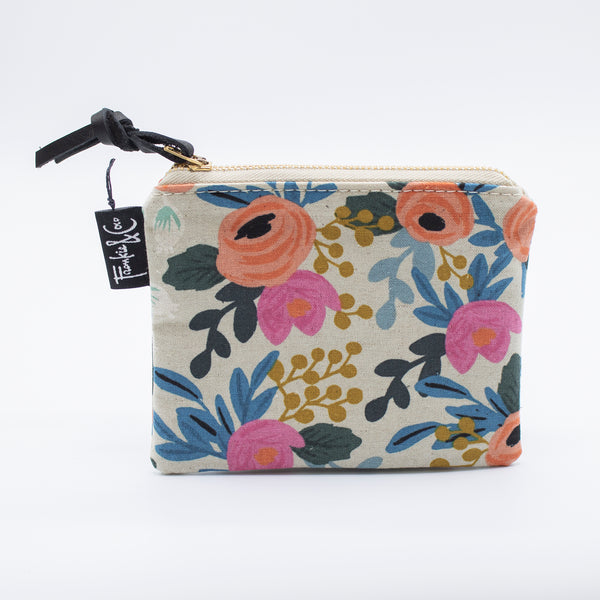 Zip Pouch - Bloom Floral