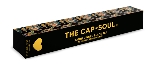 Ginger and Lemon Black Tea Capsules