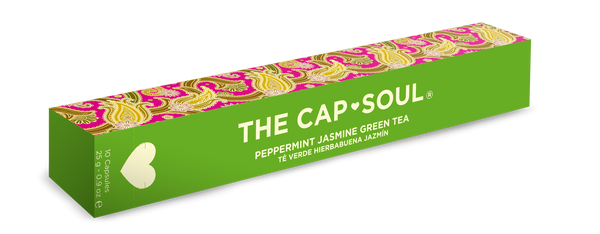 Mint and Jasmine Green Tea Capsules
