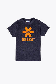 Deshi Tee Orange Star - Navy Melange
