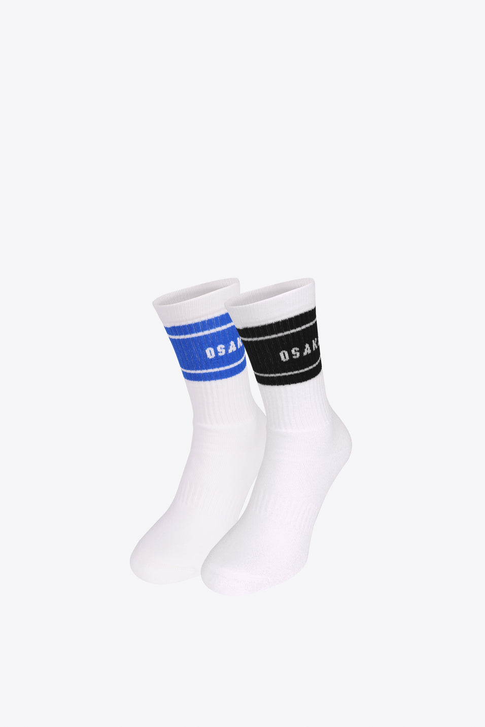 Colourway Socks Duo Pack - Black / Royal Blue