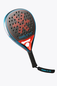 Osaka Padel Racket - Vision Pro - Power Frame - Hard Touch - Oxy Red